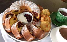 Vynikajúca dvojfarebná špaldová bábovka: tip na sladké raňajky aj koláč ku káve - Fitshaker
