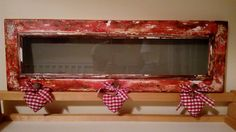 frame with decoupage