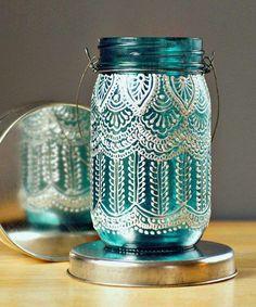 Lanterne fai da te marocchine - Vasetto fai da te