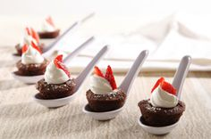 These little bowls are a cute way to dress up the classic brownie!
