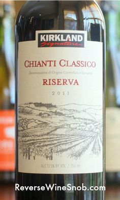 Chianti Classico Riserva for $8.69?? Our latest #Costco pick! #wine #winelover
