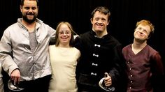 Growing Up Downs. Documentary telling the incredible story of a group of young actors with Down's syndrome who set out to create a touring production of Shakespeare's Hamlet. Along the way the play begins to blur with their real lives, leading to romance, rows and revelations. This funny, intimate and uplifting film is directed by William Jessop, the brother of leading man Tommy