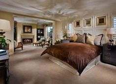 Master Retreat with Fireplace is a Dream Master Bedroom!  (photo courtesy of Brookfield Homes)