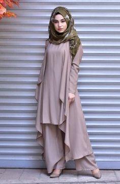 Hijab Fashion 2016, Modern Hijab Fashion, Islamic Fashion, Abaya Fashion, Muslim Fashion, Modest Fashion, Girl Fashion, Fashion Dresses, Simple Pakistani Dresses