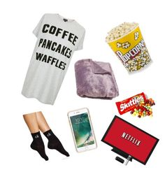"""""""Perfect night to yourself 😆"""" by kaycass1 on Polyvore featuring Topshop, Calvin Klein and Griffin"""