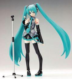 Vocaloid2 Miku Hatsune Figma Non-Scale Vocaloid Action Figure