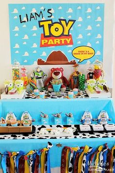 Toy Story Party #toystory #partyideas