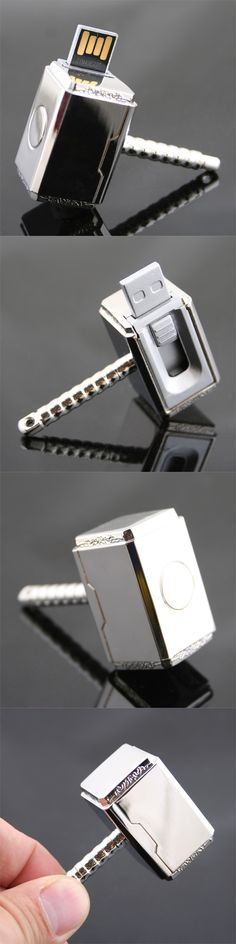 Thor Hammer USB Flash Drive http://www.usbgeek.com/products/thor-hammer-usb-flash-drive