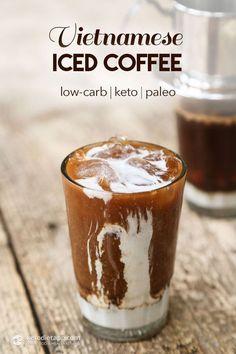 Keto Vietnamese Iced Coffee (low-carb, keto, paleo)