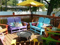 lackfarben für holz acryllack möbel outdoor gartenmöbel