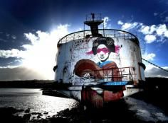 The Walls Have Eyes: Abandoned Spaces Given Graffiti Facelifts