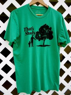 THAT'S SHADY GOODY TWO SLEEVES Funny Green T Shirt Men's Size XL Short Sleeves #GoodieTwoSleeves #GraphicTee Sold