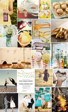 a beach wedding on a budget: this has A LOT of things i was already thinking about, and then gave me more ideas too! love this