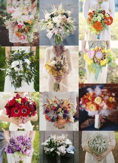 buquê de noiva + inspirações | Lápis de Noiva