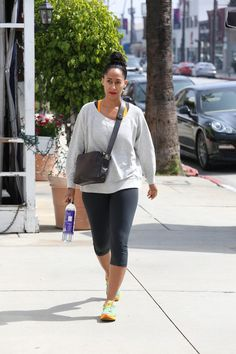 Spotted: Tracee Ellis Ross Outside Tracy Anderson Gym