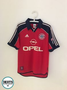 BAYERN MUNICH 1999 00 Home Football Shirt (S) Soccer Jersey Vintage ADIDAS  MW 2d1a00c48