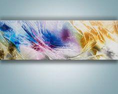 Resumen arte de la pared pintura abstracta pintura por Catalin