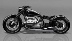 Schöner reduzierter Retro-Style als Entschleunigungstherapie im Digitalzeitalter: Das BMW Motorrad Concept R18 – Virtual Design Magazine Motos Bmw, Bmw Motorbikes, Bmw Motorcycles, Custom Motorcycles, Custom Bmw, Custom Bikes, Triumph Bonneville, Yokohama, Ford Gt