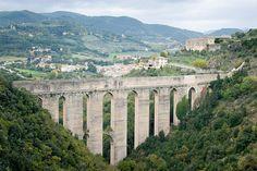 Ponte delle Torri, Spoleto, Umbria, Italy
