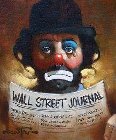 chuck oberstein clown prints | Трень-Брень... всё - набекрень?