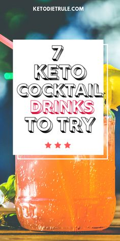 7 Awesome Keto Cocktails That Won't Kick You Out of Ketosis - - It's not fun to cut carbs, but these keto cocktails can make up for the loss. If you need keto alcohol cocktail ideas, check out these. Best Diet Drinks, Best Diet Foods, Healthy Drinks, Low Carb Cocktails, Cocktail Drinks, Alcoholic Drinks, Cocktail Recipes, Cocktail Ideas, Summer Cocktails