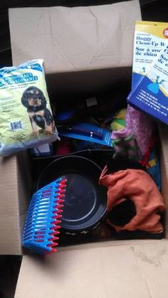 Pet Supplies in COZ1952's Garage Sale in Shelby Twp , MI for $30.00. Every single item in this box of goodies is BRAND NEW Collars, Leashes, Toys, Puppy Pads One Water/food Dish, Kitty Litter Scoops etc. All Clean and Safe and Ready to be enjoyed. Clothes are more like tiny dog sweaters 30 for the entire Box Cash Only You Pick Up If shipping to you add 10.00