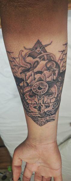 Pink Floyd Tattoo by Max at Ink Inn New Delhi (India)