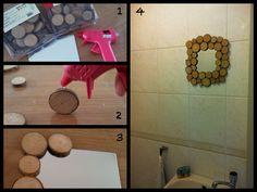 Spiegel met houten rand (+ werkbeschrijving)