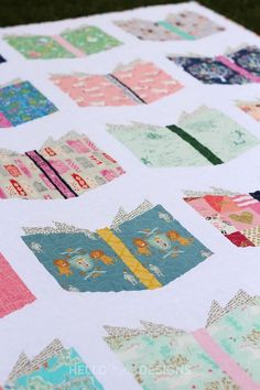 Patchwork Quilting, Scrappy Quilts, Baby Quilts, Quilts For Kids, Patchwork Dress, Hand Quilting, Quilting Projects, Quilting Designs, Sewing Projects
