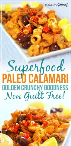 Looking for a delicious calamari recipe that's free of gluten and grains? Check out our Paleo spin on this deliciously authentic Italian appetizer!