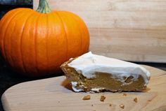 Pumpkin Pie with Biscoff Crust and Maple Bourbon Whipped Cream | The Jey of Cooking