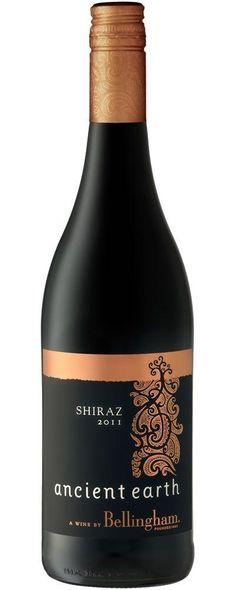 Ancient Earth - Shiraz - Bellingham #wine #vino #naming #packaging