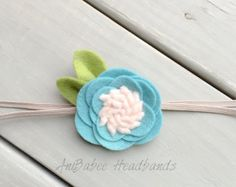 Baby Headband Baby Flower Headband Flower Headband Newborn