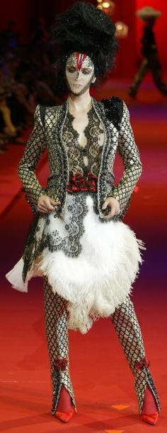 Christian Lacroix Haute Couture Fall-Winter 2002 | The House of Beccaria#                                                                                                                                                                                 More