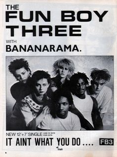 The Fun Boy Three  Bananarama - Ain't What You Do, 1982