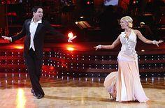 Kym Johnson & Mark Cuban dance the Viennese Waltz.