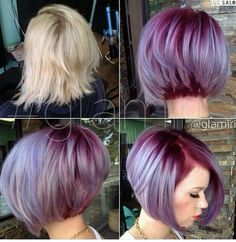 Short and purple
