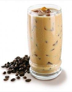 Coffee Mocha Vi-Latte'  2 Scoops Visalus Shake Mix  1 1/2 cup almond milk  1 tsp. instant coffee  1 tsp. Folgers cappuccino  1 tsp. coco  1 tsp. vanilla extrac