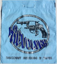 Revolver - Nottingham - Blue - Front Vinyl Store, Vinyl Records, Nottingham, Revolver, Punk, Shopping, Music, Blue, Musica