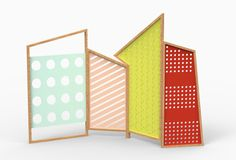 Screens and Tapparelle from Cole Italian Design Label - Design Milk Milan Furniture, Furniture Design, Furniture Removal, Geometric Furniture, Partition Screen, Interior Design Inspiration, Decoration, Home Furnishings, Contemporary