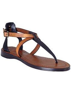 Just got these perty sandals too! #iloveshoes - Frye Rachel T Sandal | Piperlime
