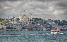 Follow the light - Süleymaniye Mosque historcal place in Turkey