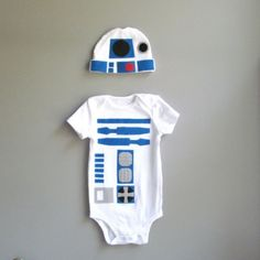 Etsy Fiending: get your R2D2 baby onesies from The Wishing Elephant   @offbeatfamilies
