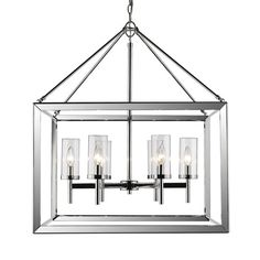 Buy the Golden Lighting CH-OP Chrome / Opal Direct. Shop for the Golden Lighting CH-OP Chrome / Opal 4 Light Wide 1 Tier Chandelier From the Smyth Collection and save. Candle Chandelier, Candelabra Bulbs, Lantern Pendant, Chandelier Lighting, Task Lighting, Modern Lighting, Lighting Stores, Chandelier Ideas, Luxury Chandelier
