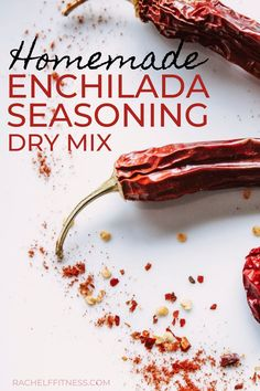 This homemade enchilda seasoning mix recipe is a dry mix, is the equivalent of a oz store bought packet and can be used to make healthy enchilada sauce. Healthy Eating Tips, Healthy Cooking, Healthy Dinner Recipes, Vegetarian Recipes, Cooking Tips, Healthy Food, Clean Eating, Gluten Free Enchiladas, Enchiladas Healthy