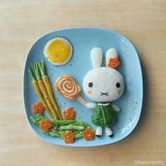 #Rabbit #plate. Shop with #Kidstart and get savings back for your children! www.kidstart.co.uk