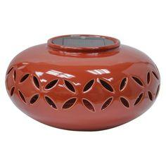 Threshold Ceramic Solar Lantern - Oval at Target.com