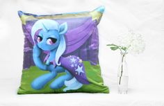 Trixie Lulamoon Pillow 40 x 40 cm Pillows, Fictional Characters, Products, Art, Bed Pillows, Craft Art, Cushion, Kunst, Gcse Art