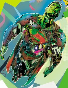 dc comics wit myface by giulio iurissevich, via Behance