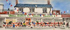 Sue Howells Visocchi's, Buon Gelato! Signed Limited Edition Print | Contemporary Art